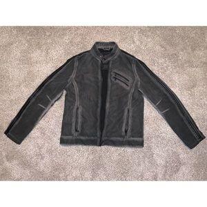 Rock & Republic men's faux leather jacket - medium